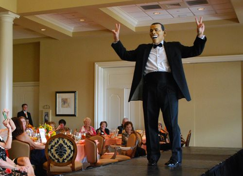 Sal Tiano as Barack