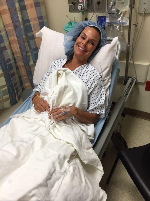 Kim pre-surgery